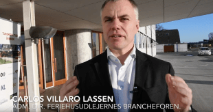 Carlos Villaro Lassen, adm. direktør, Feriehusudlejernes Brancheforening. (foto: Lars Bo Axelholm)