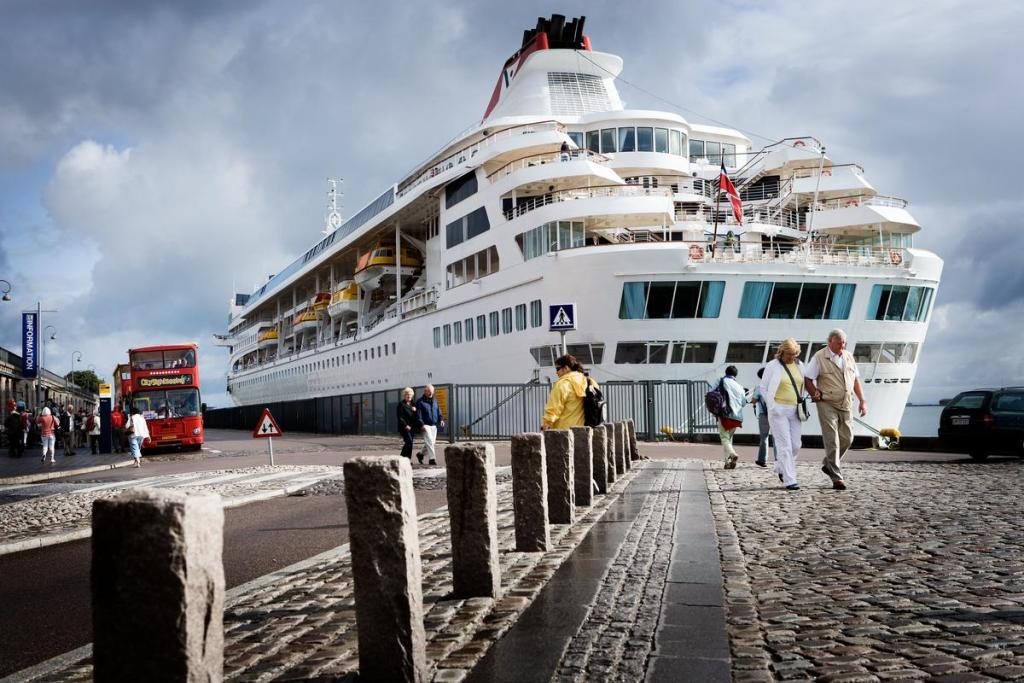 Krydstogtsskibene er ladet med guld. En undersøgelse fra Cruise Copenhagen Network viser, at krydstogtsturismen skaber næsten 2000 job i Danmark. (Foto: Ty Stange/Copenhagen Media Center)