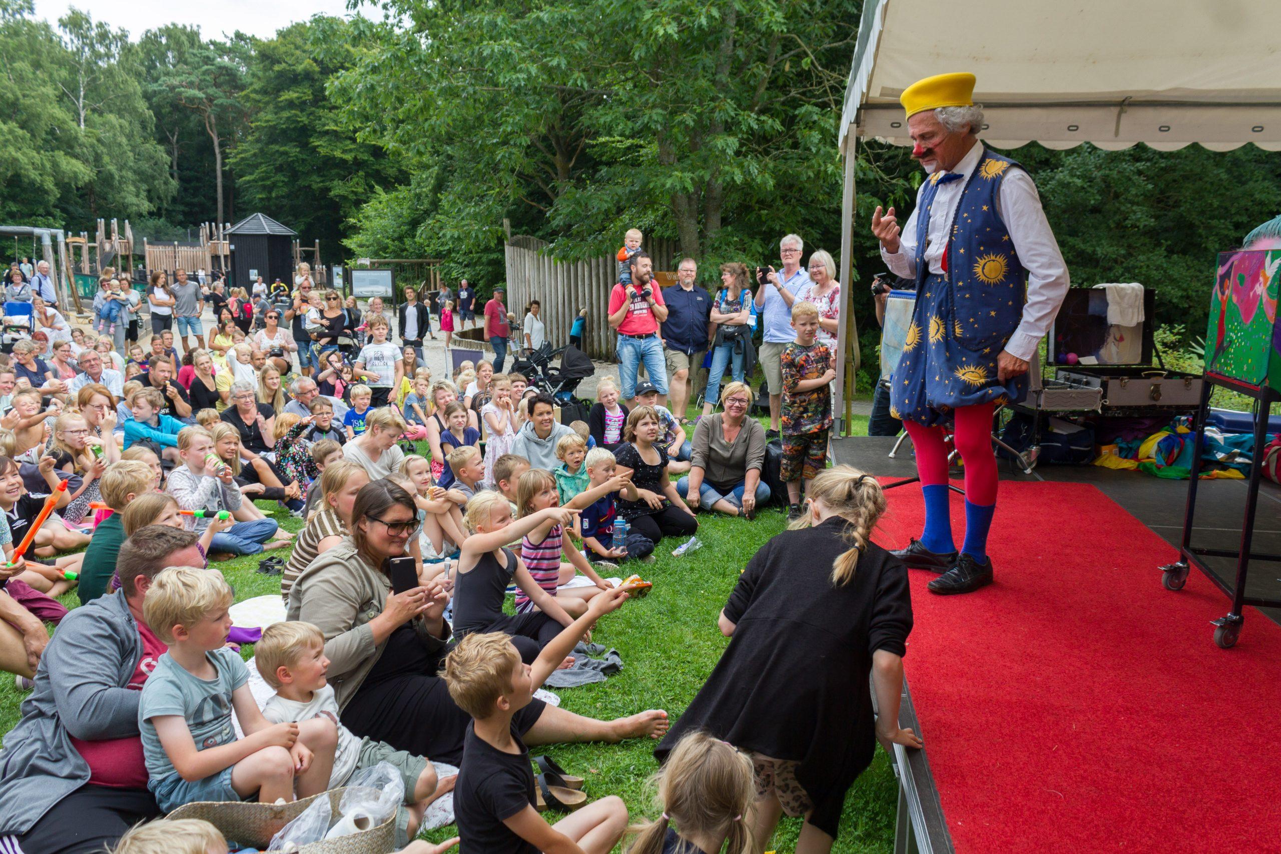 Foruden en ny masterplan bød 2016 også på events med besøg af Onkel Reje, Lille Nørd og her Benny Schumann. (PR-foto: AQUA).