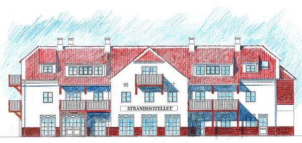 Strandhotellet i Blokhus er klar til sommersæsonen. (PR-foto Strandhotellet Blokhus)