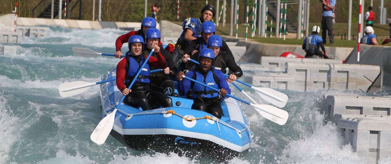 White water rafting prøves hvert år af flere millioner mennesker i hele verden. Derudover dyrkes rafting som konkurrencesport hvor Danmark har deltaget ved EM og VM siden 2001. (Foto: Dansk Surf & Rafting Forbund)