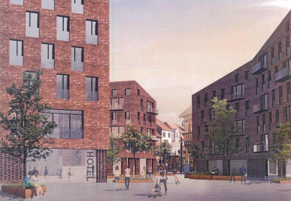 Zleep Hotel åbner ifølge planerne i Hillerød i efteråret 2019. (PR-foto: Zleep Hotels)