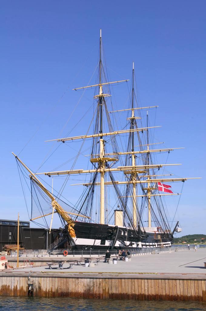Hvor tager gæsterne hen, når de har besøgt Fregatten Jylland? Det kan big data i turismen hjælpe med at svare på. (Foto: VisitDjursland)