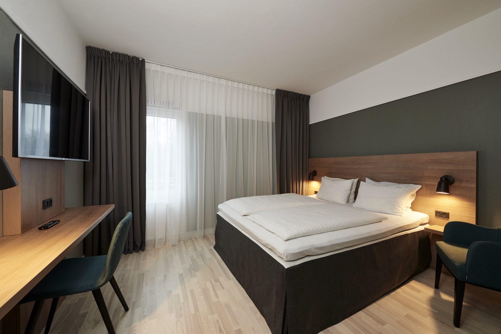 Samtlige værelser på Hotel Østerport er blevet totalrenoveret. (PR-foto)