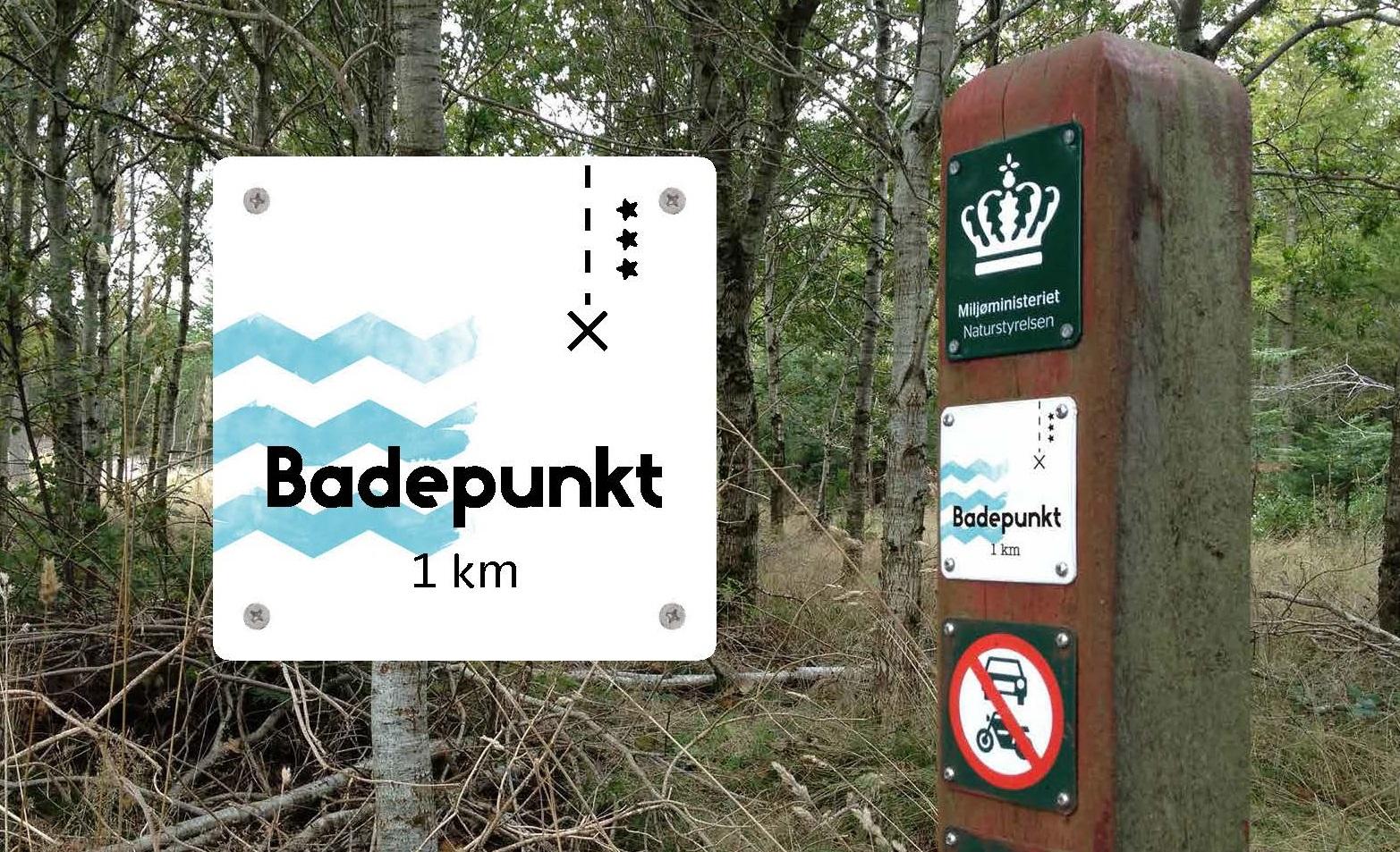 Det nye alternativ til Blå Flag har fået navnet Badepunkt. Foreløbig bliver mærkningsordningen testet på syv strande til sommer. (Foto: Friluftsrådet)