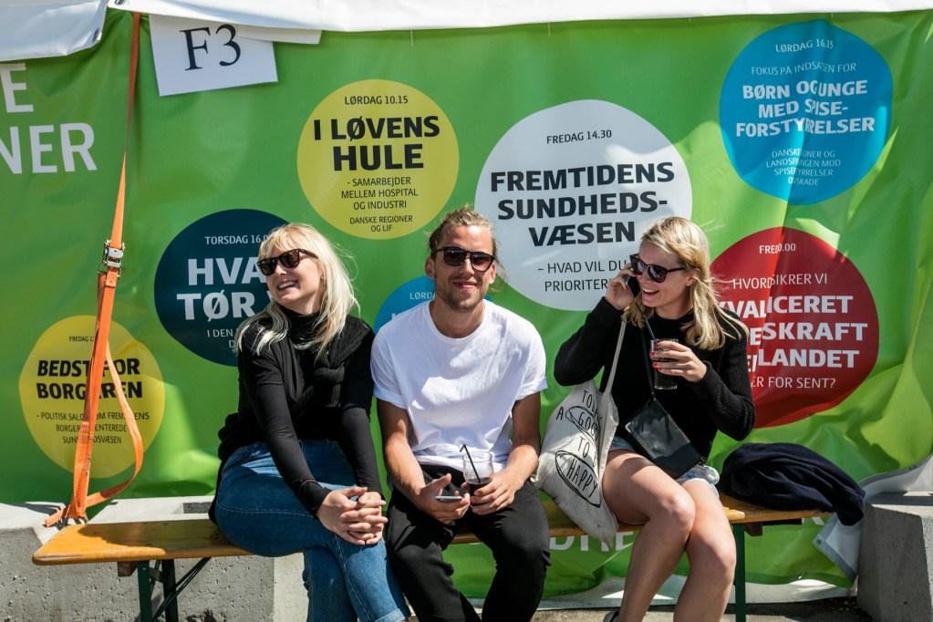 Folkemødet er en rigtig god forretning for Bornholm, viser en ny analyse. (Foto: Folkemødet/Joshua Tree Productions)