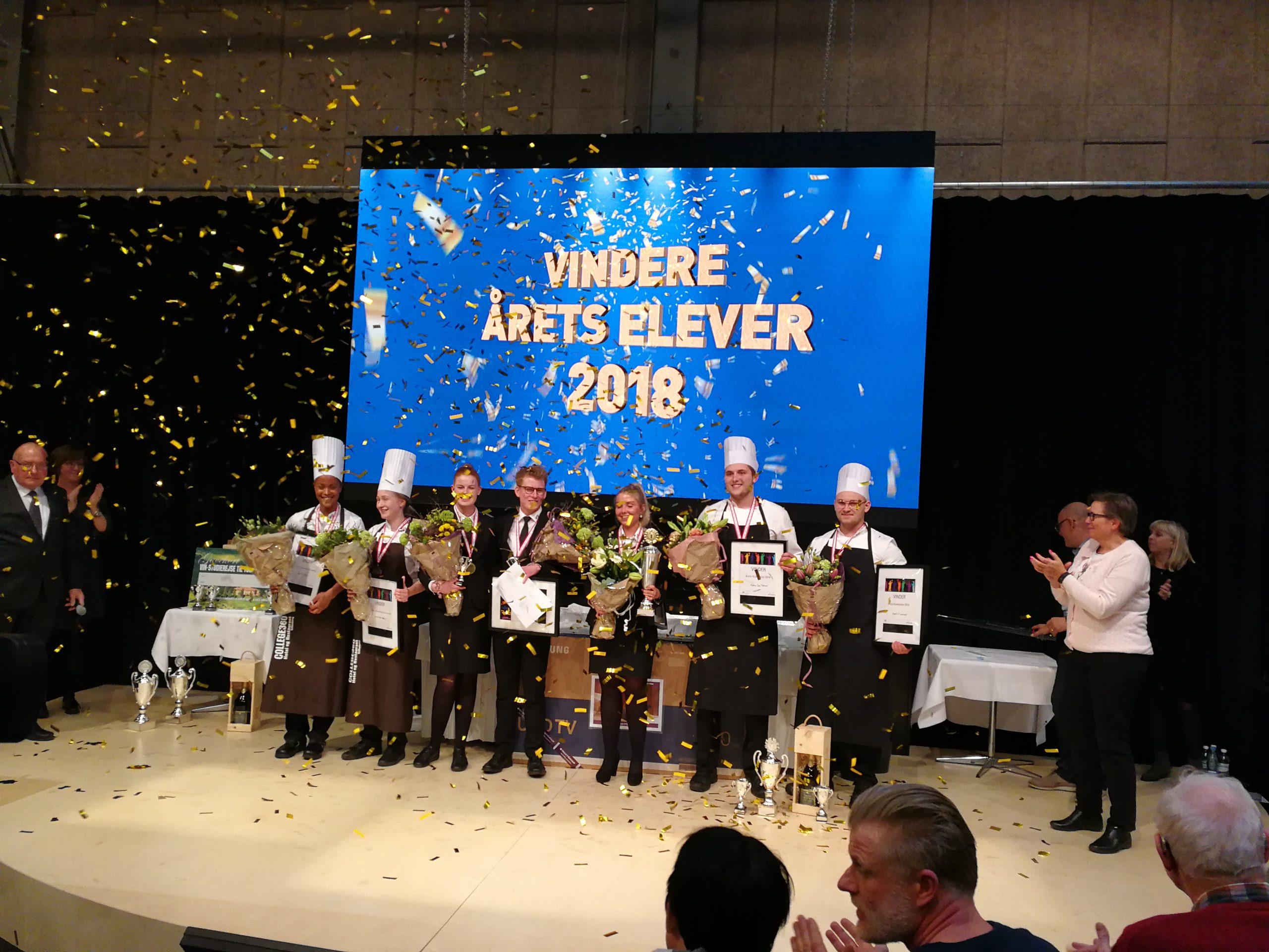 Årets kokke- og tjenerelever 2018