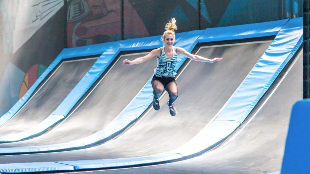 Adrenalinparken Airtrix åbner i uge 12 i Nordhavn i København. (PR-foto)