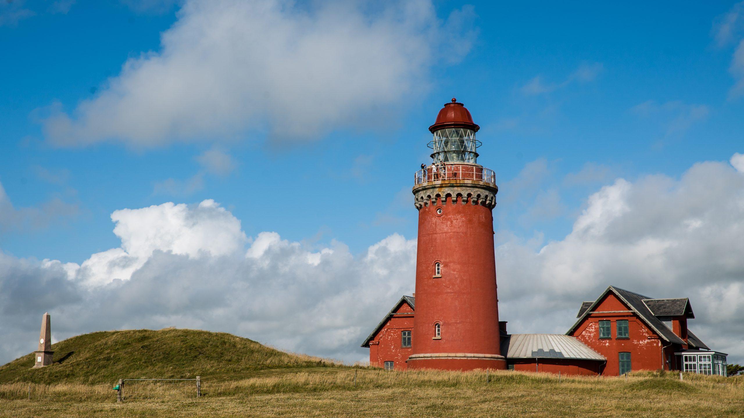 Bovbjerg Fyr er ét af de 50 udvalgte steder i den nye guide smutturen.dk. (Foto: Realdania/Cathrine Cort Koppel)