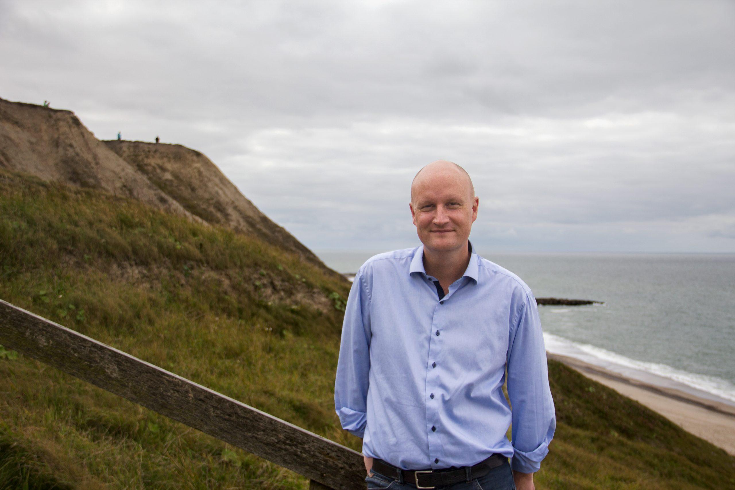 Turistchef i Lemvig-Thyborøn Turistforening, Kristian Hansen. (Pr-foto)