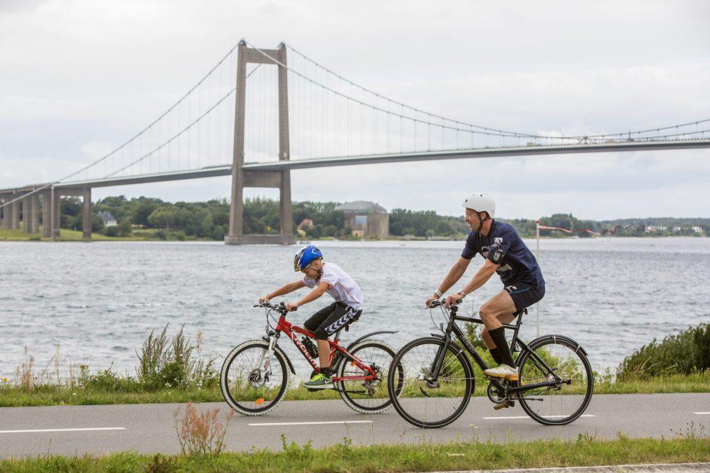 VisitLillebælt har lanceret et nyt koncept, Bike Friend, der skal forkæle cykelturisterne. (Foto: VisitLillebælt)