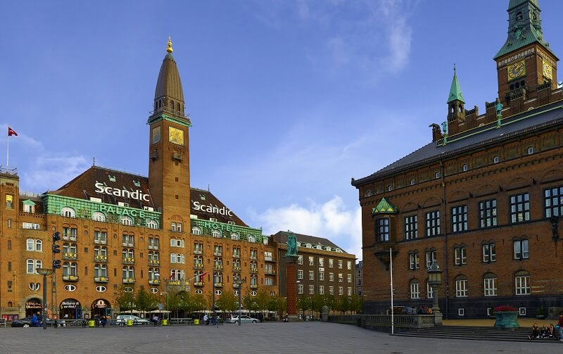 Scandic Palace Hotel på Rådhuspladsen. (PR-foto: Scandic)