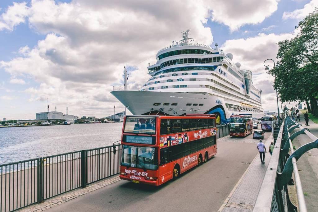 København er langt den største destination for krydstogtskibe i Danmark. (Foto: Wonderful Copenhagen/Thomas Høyrup Christensen)
