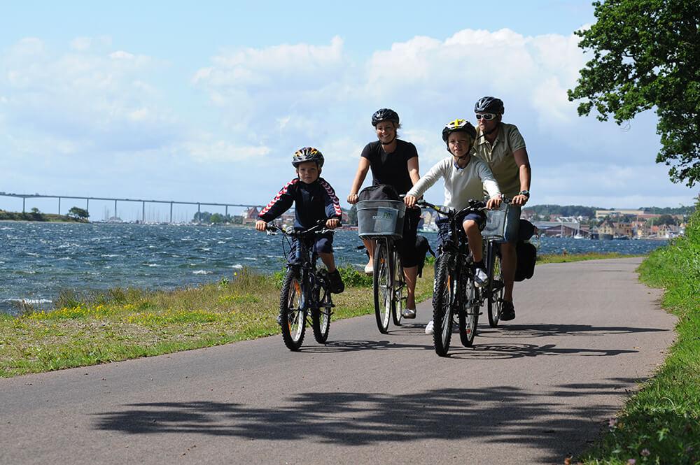 En ny analyse viser, at Fyn og øerne vil få stort udbytte af satsningen på cykelturismen. (Foto: Destination Fyn/Cees Van Roeden)