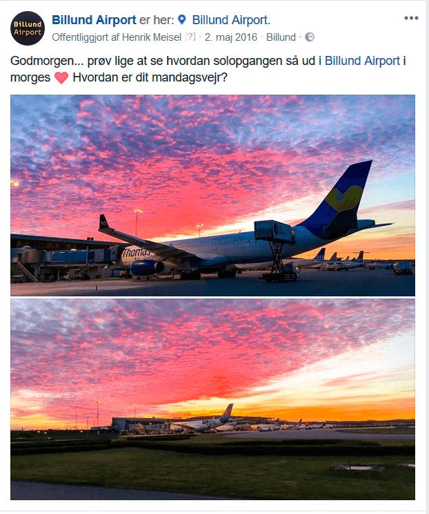 """3 En for alle og alle for en Content fra ALLE i lufthavnen 02052106  Sociale Medier, Instagram, Henrik Meisel, Finnair, Facebook, BLL - Billund Lufthavn Billund Lufthavn stormer frem på sociale medier: """"Fly virker som nuttede katte ..."""" tema-saadan-faar-vi-succes-paa-de-sociale-medier 3 - En for alle og alle for en - Content-fra-ALLE-i-lufthavnen 02052106"""