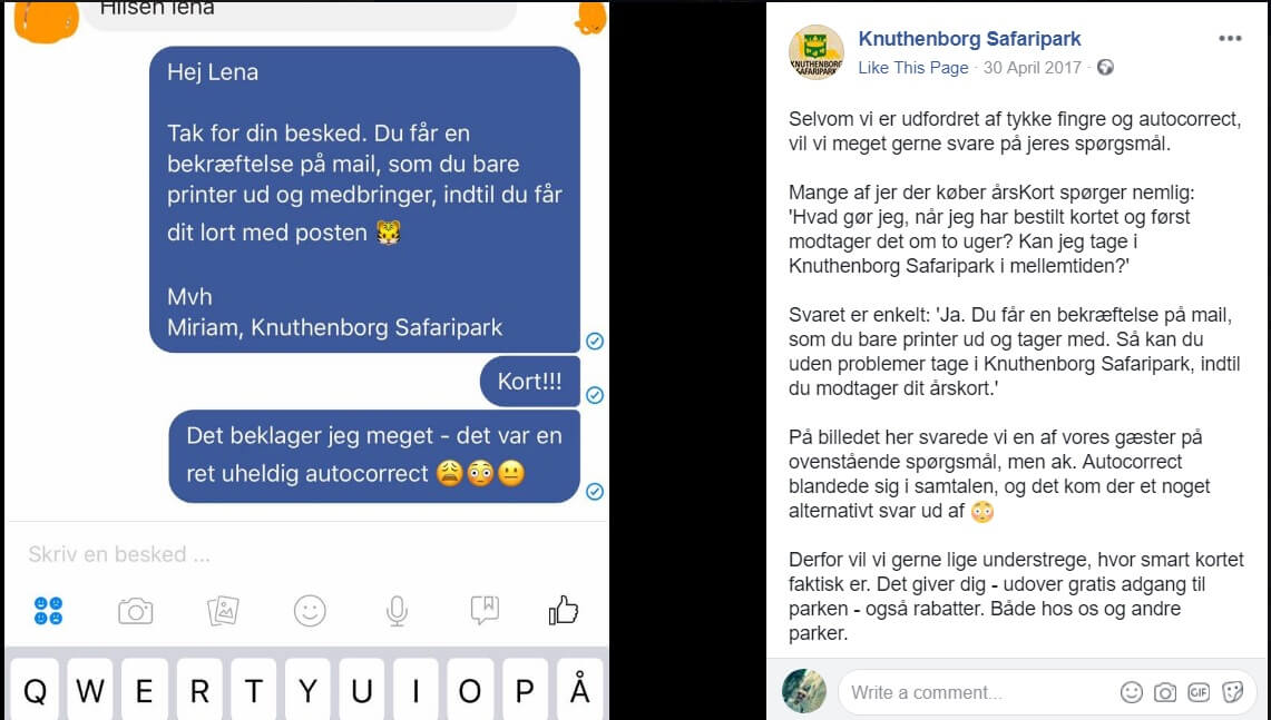 foto 1 1  Sociale Medier, Miriam Hindsgaul, Knuthenborg Safaripark, Instagram, Facebook Succes på SoMe? Så spørg dig selv om det er 'bacon' ... tema-saadan-faar-vi-succes-paa-de-sociale-medier Du får dit lort med posten