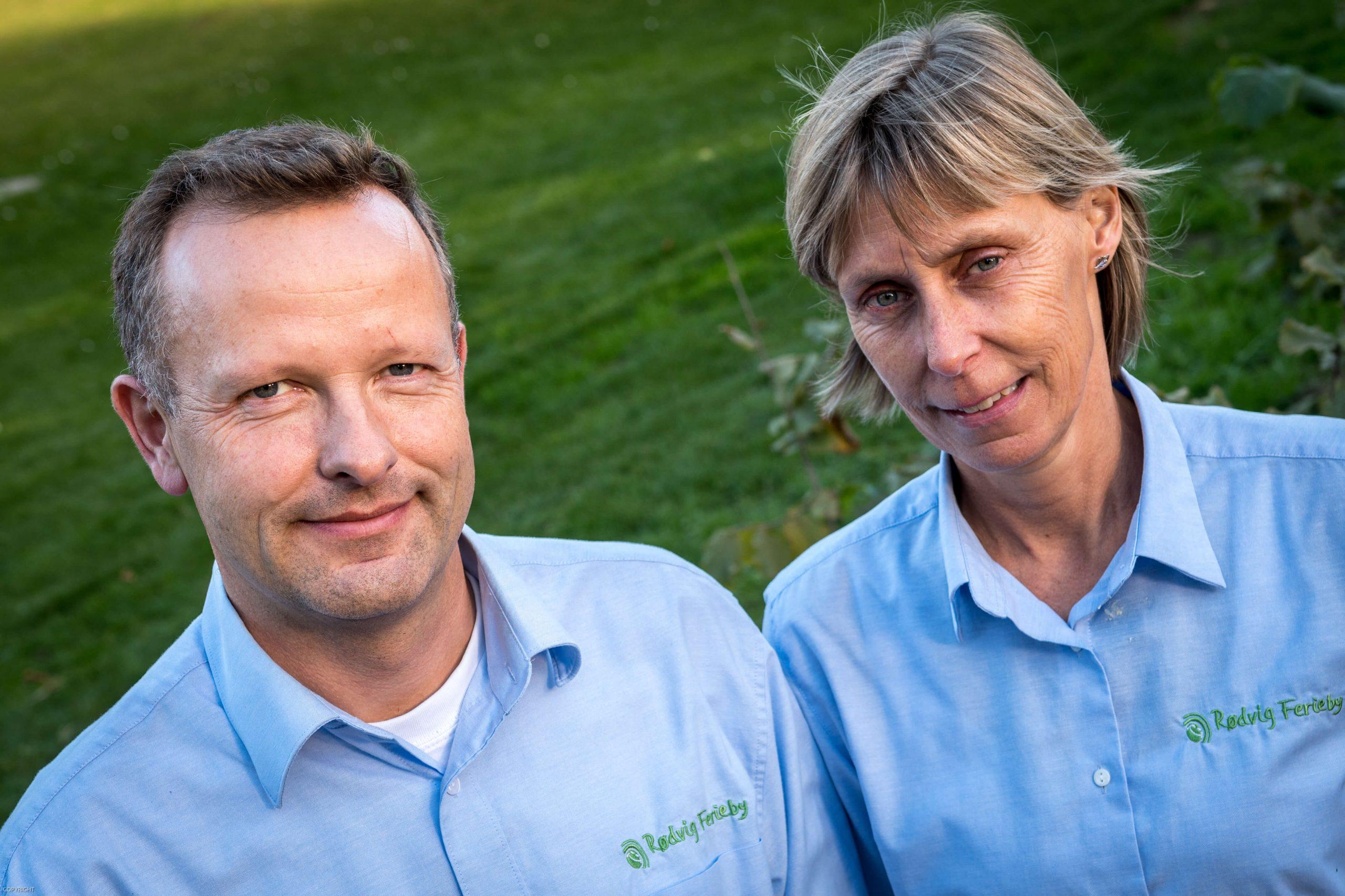 Mette og Claus Høgenhaug overtog Rødvig Ferieby i 2010, og siden er det gået stærkt. Omsætningen er fordoblet, bl.a. takket være vigtige samarbejder. (Foto: Lars Bo Axelholm)