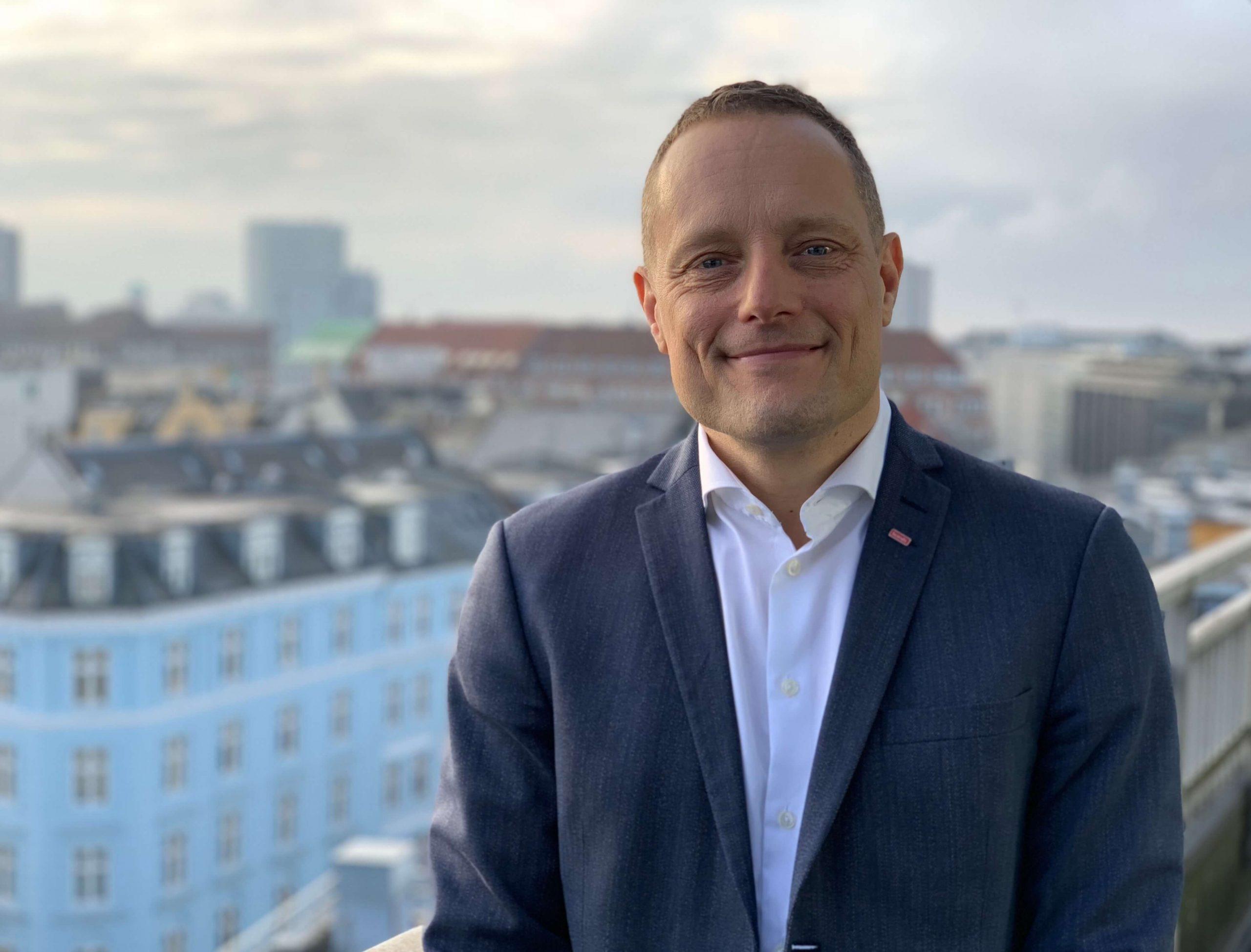 Søren Faerber er udnævnt til ny administrerende direktør for Scandic i Danmark. Han afløser Jens Mathiesen, der tidligere på måneden blev udnævnt til president og CEO for Scandic koncernen. (Foto: Scandic)