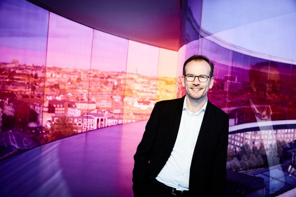 Direktør i VisitAarhus og formand for Danske Destinationer Peer H. Kristensen. (Foto: VisitAarhus)