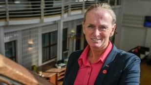 Marianne Bredevang, direktør for Scandic The Reef i Frederikshavn. (Foto: Lars Bo Axelholm)