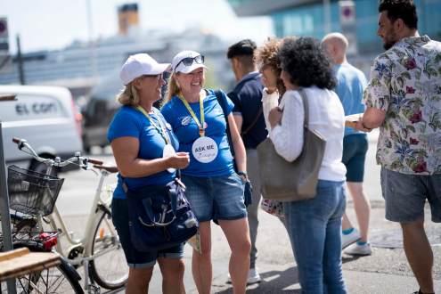 Foto 2 660x330  VisitAarhus 1.900 frivillige tager imod sommerens gæster i Aarhus storbyturisme 1.900 frivillige tager imod sommerens gæster i Aarhus