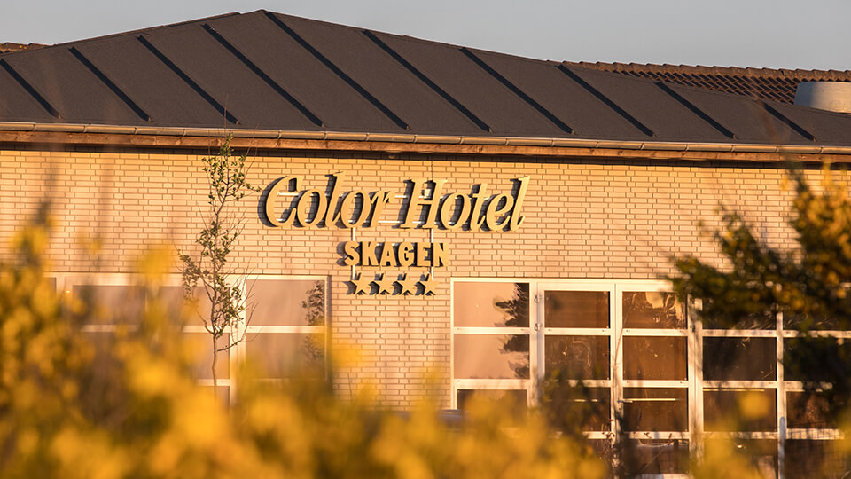 Color Hotel Skagen er Skagens største og eneste 4-stjernede hotel og tilbyder både ferieophold, overnatninger, selskaber og konferencer. (PR-foto)