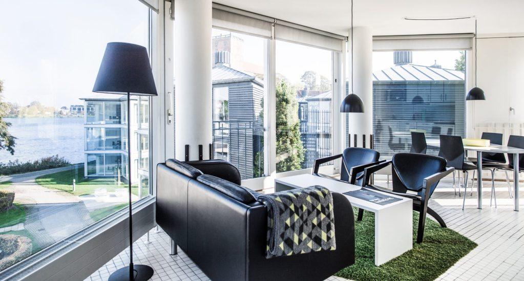 Kolding Hotel Apartments har cirka 45.000 overnatninger om året. (PR-foto)