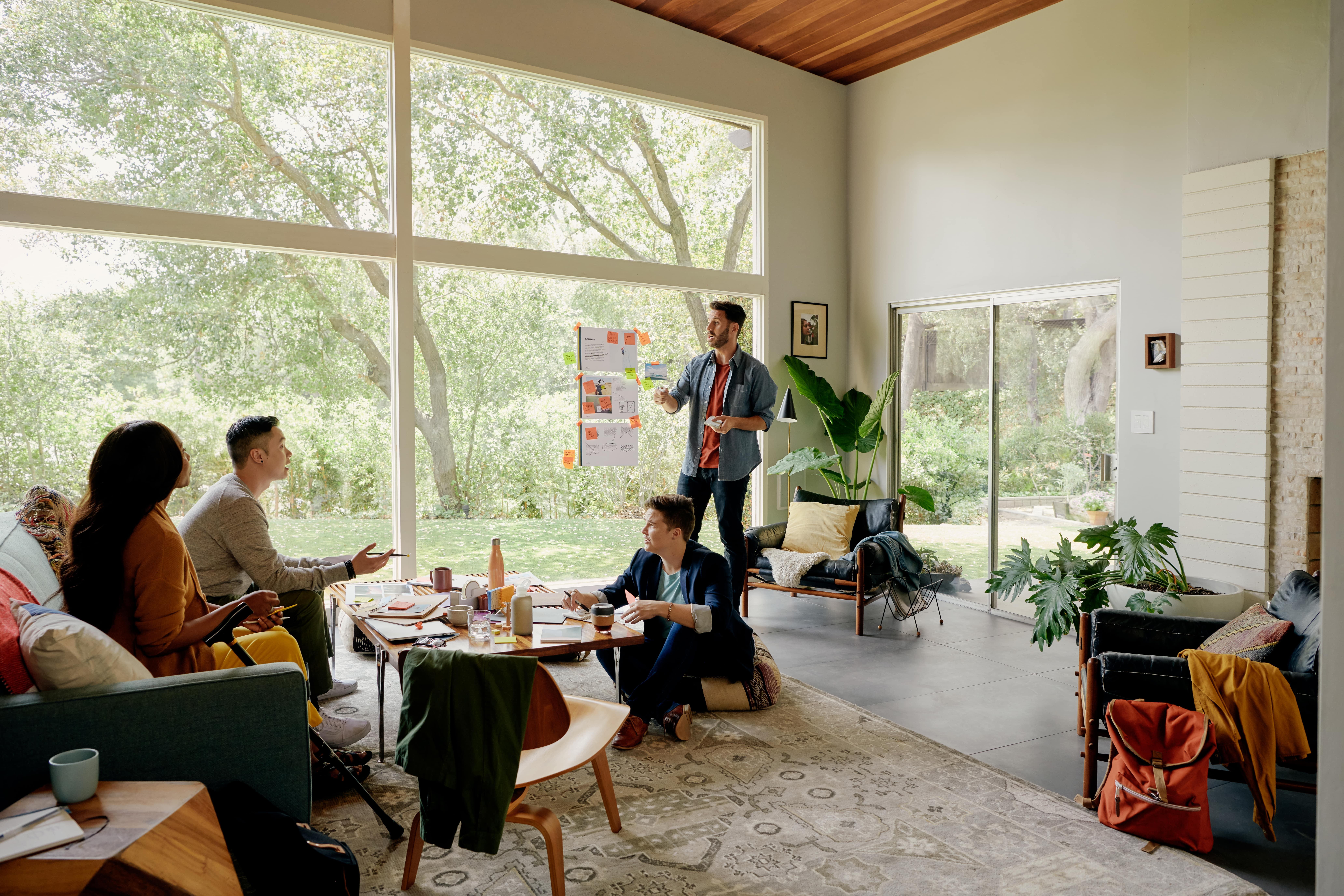Hjemmearbejde og Airbnb er steget grundet Covid19