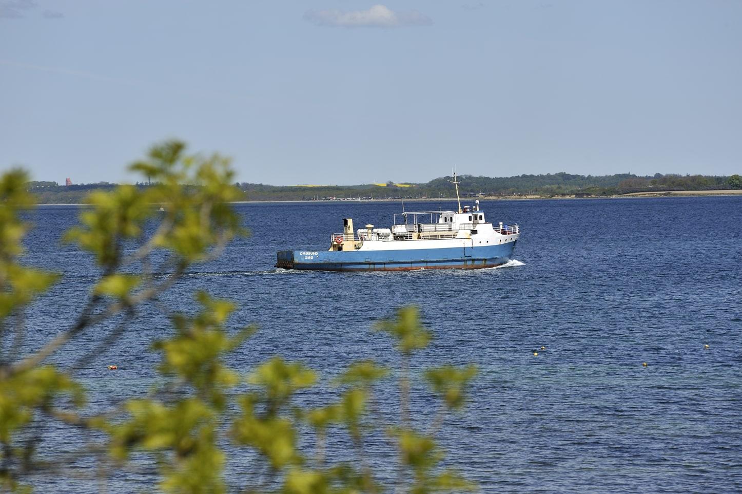 En stor del af ø-ferien er faktisk selve færgerejsen. (Foto: Destination Sjælland)