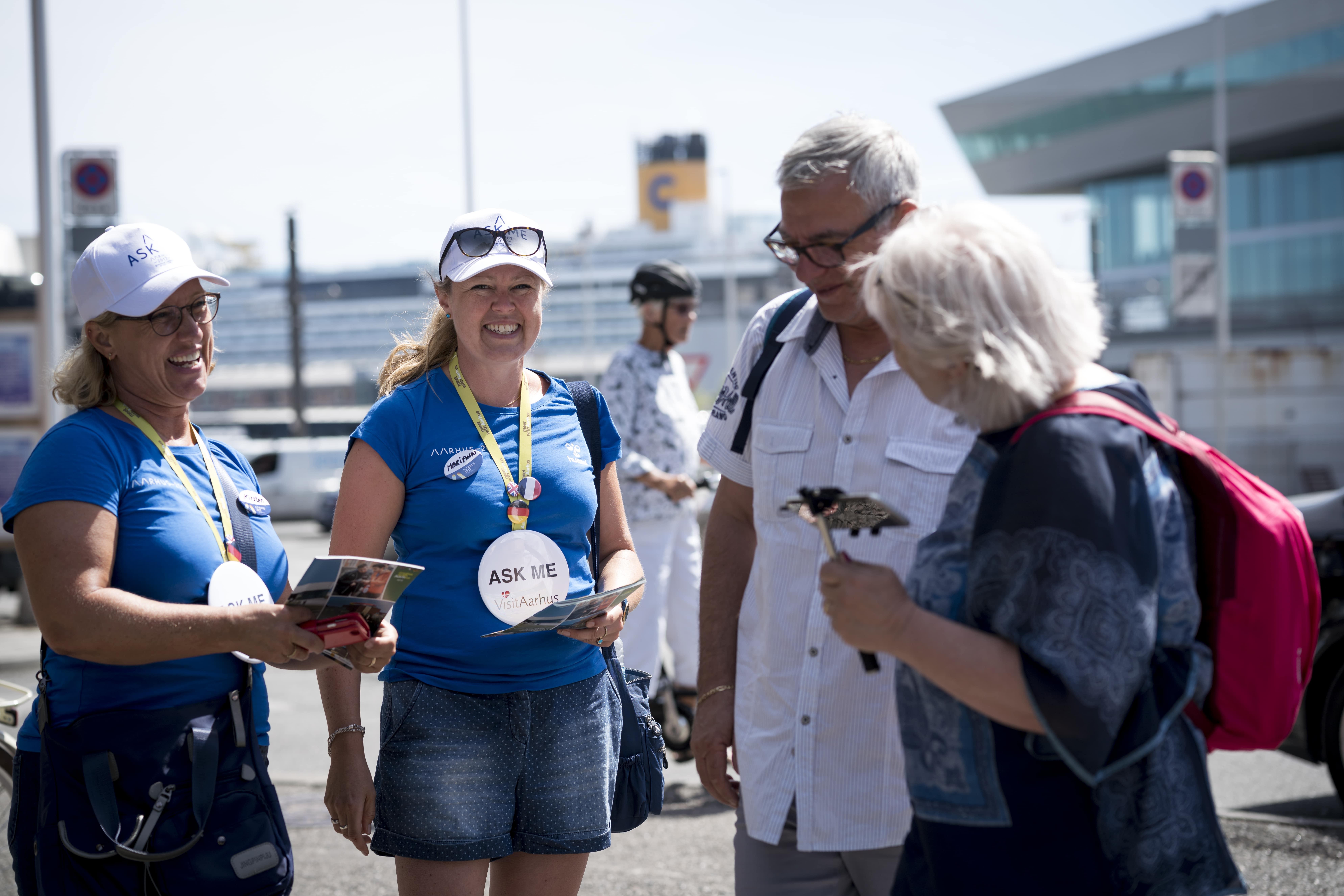 VisitAarhus har etableret et helt korps af frivillige, de såkaldte ReThinkers. (Foto: Per Bille/Visit Aarhus)