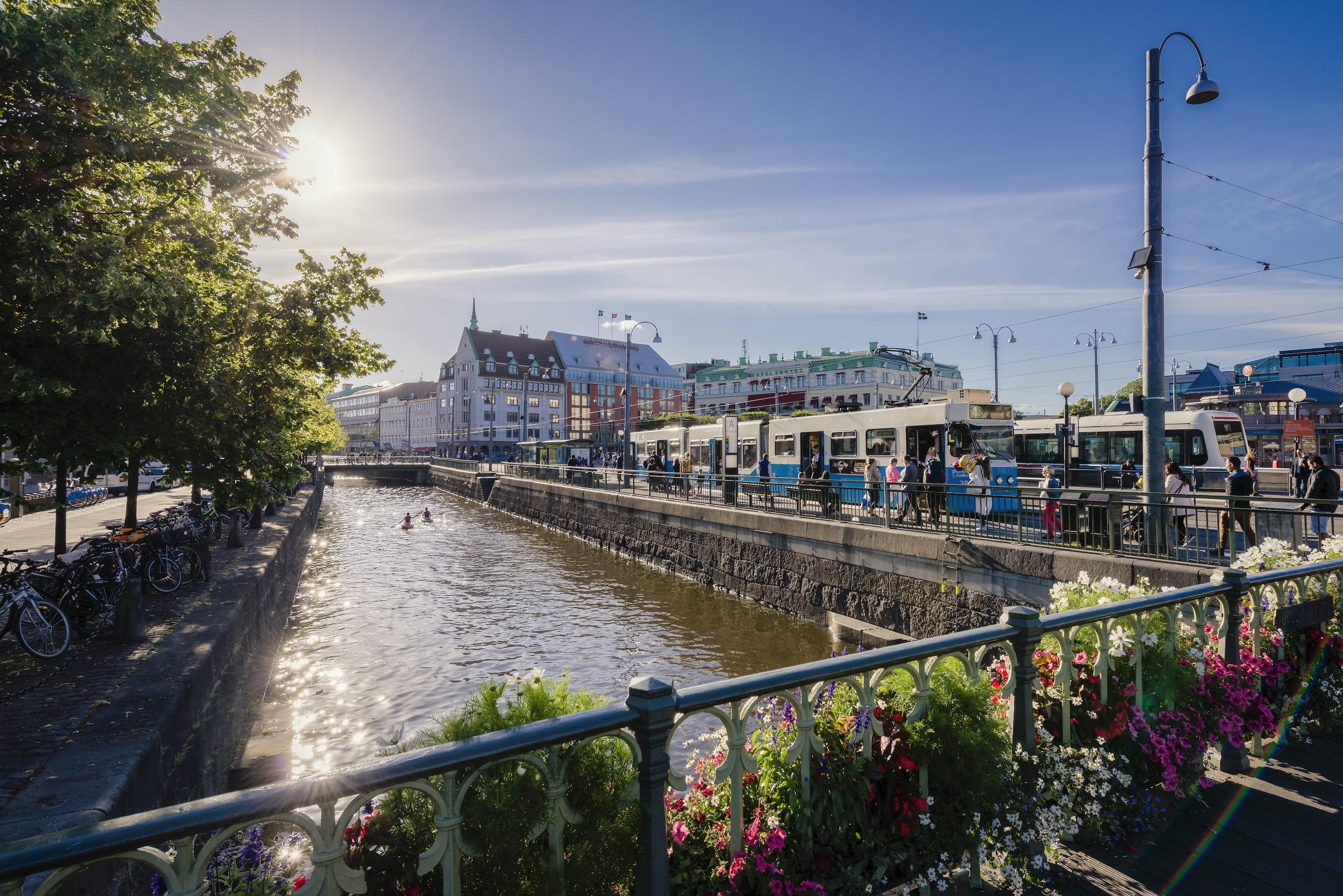 Lonely Planet har i dag offentliggjort, at Göteborg vinder prisen som den mest bæredygtige by at besøge i 2021. (PR-foto Göteborg & Co.)