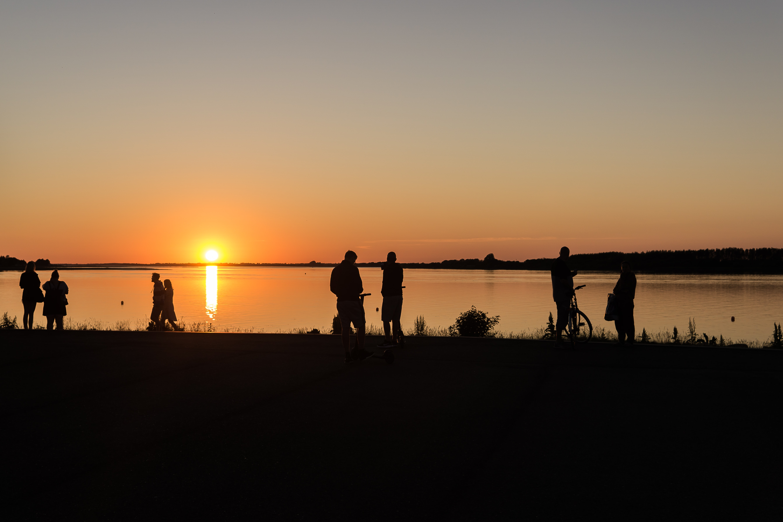 solnedgang - danmark - silhouette - foto: Javier Rincon