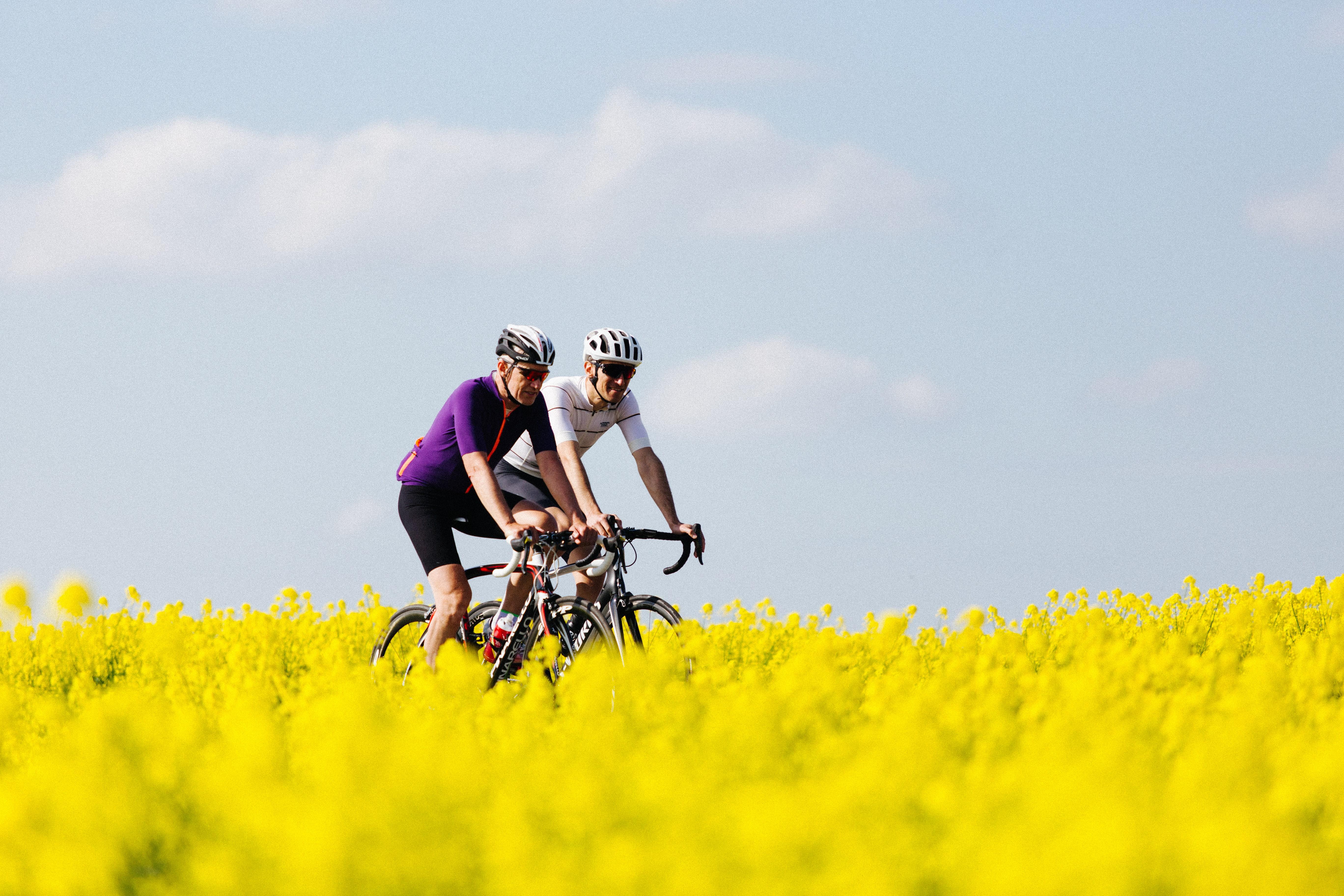 Cykling i Destination Trekantområdet. (Foto: VisitVejle)