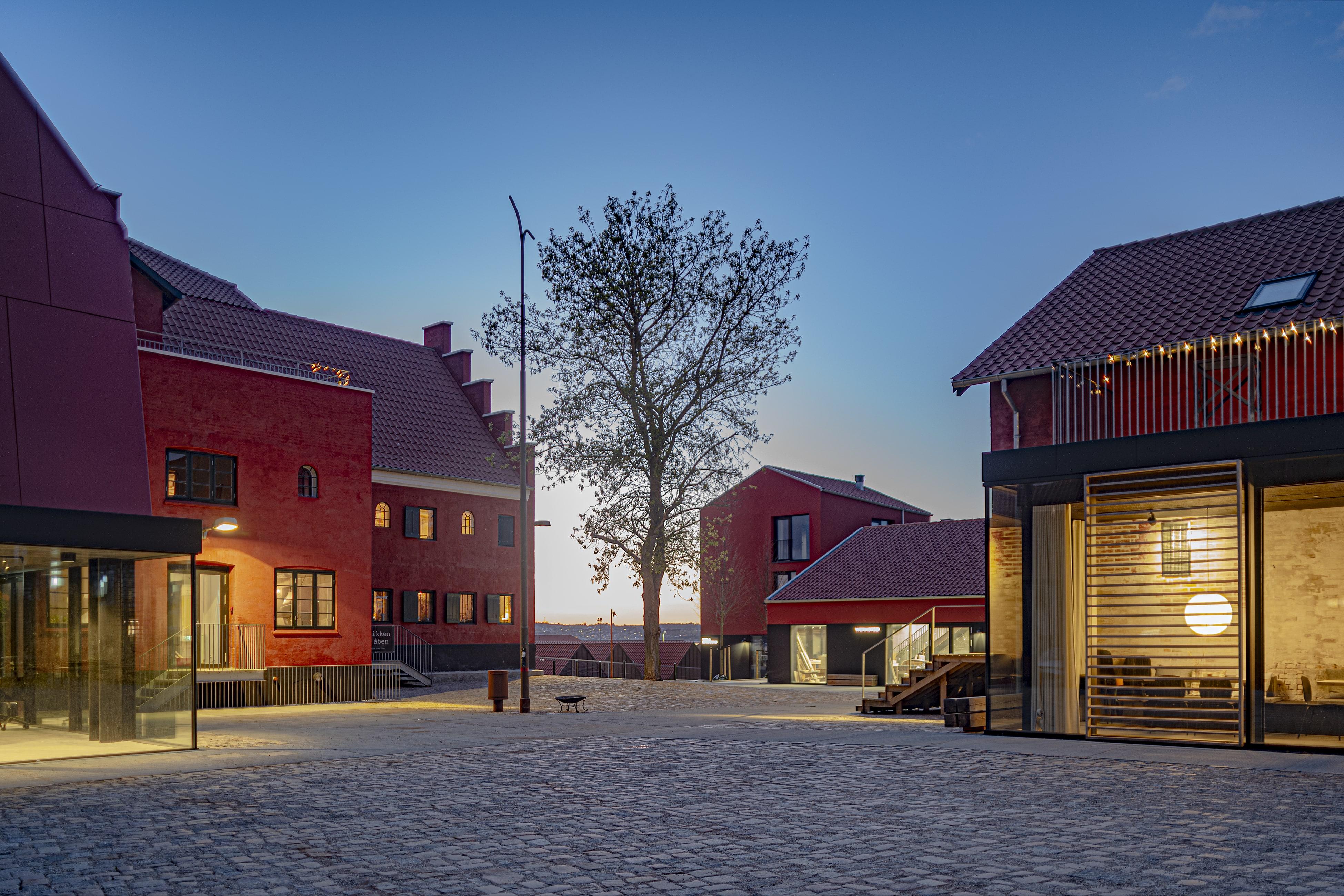 Maltfabrikken i Ebeltoft (Foto: Maltfabrikken/Jens Lindhe)