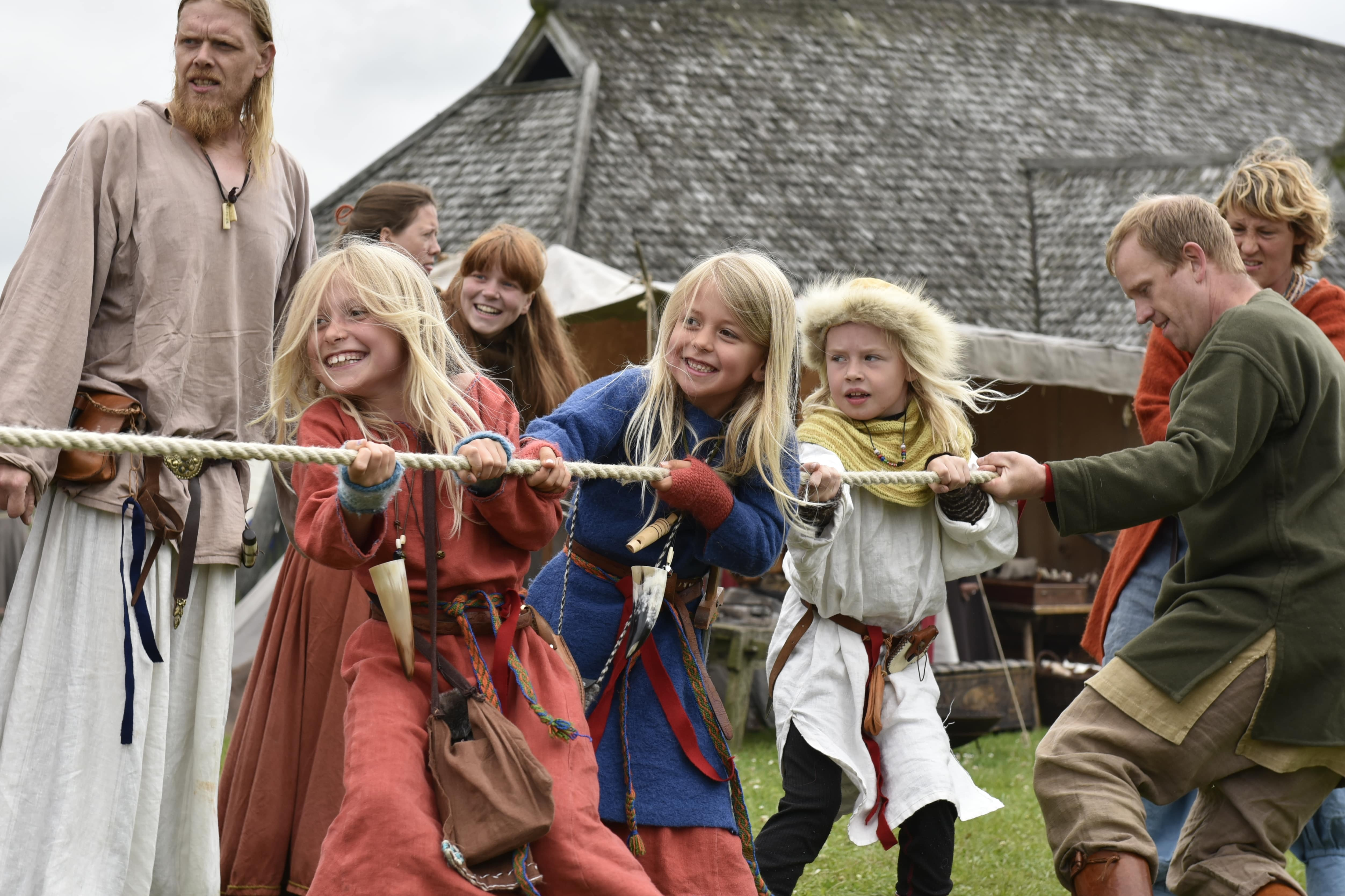 Vikingemarked Fyrkat - foto: Nordjyllands Museum