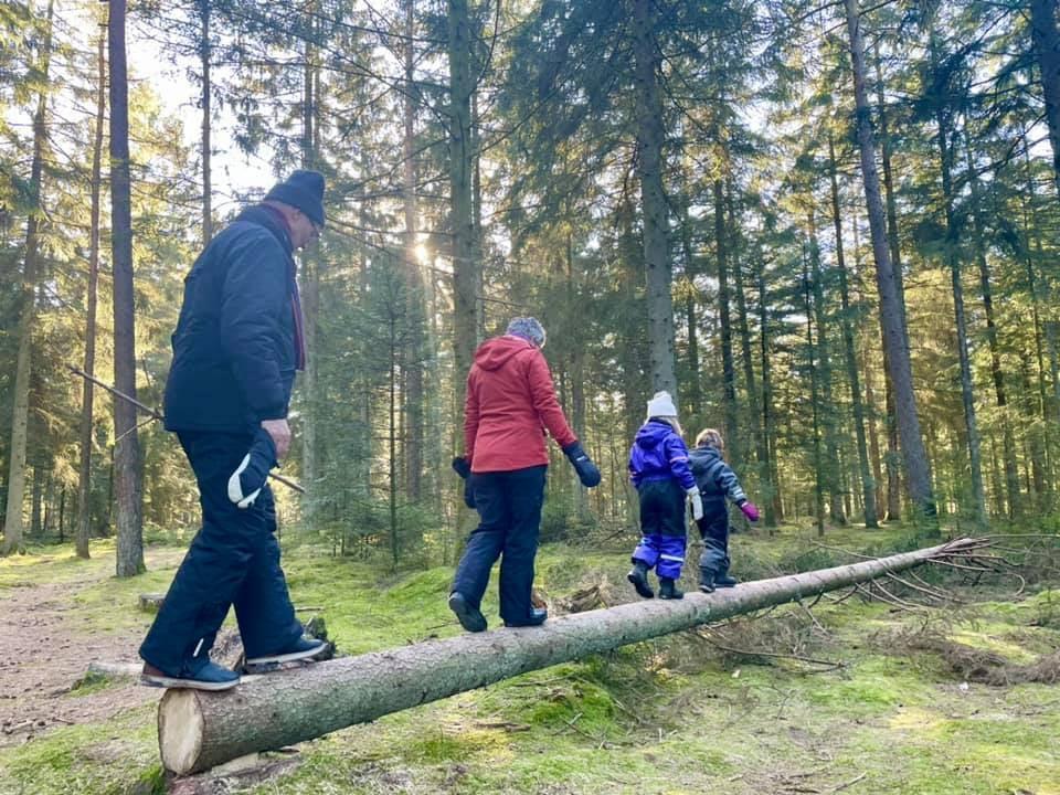 2Wild West Walk 'n' Talk-ruterne i Naturens Rige appellerer til borgere i alle aldre. Foto fra Wild West Walk 'n' Run Facebooksiden af Camilla Gaasdal