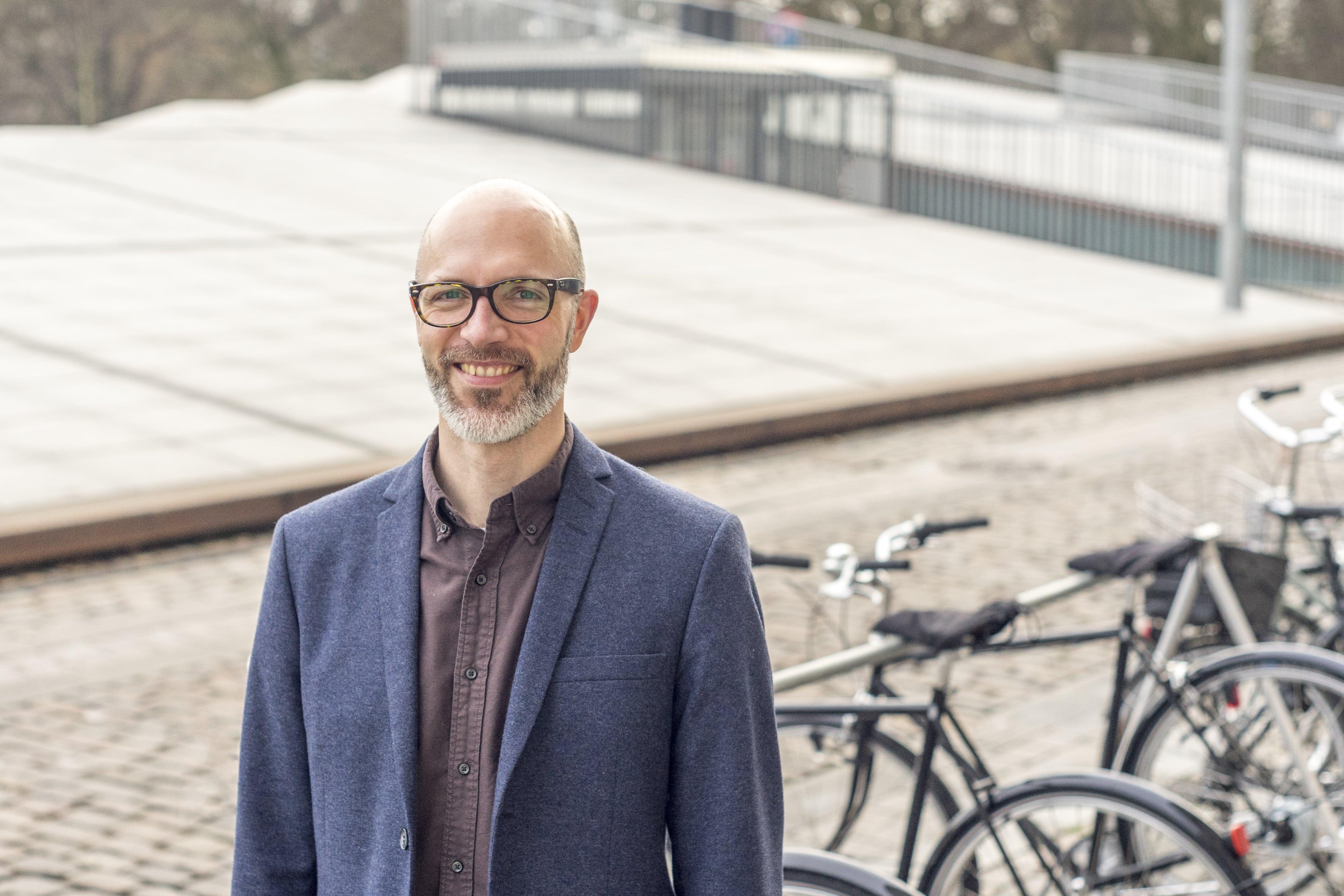 Jesper Pørksen, direktør i Dansk Cykelturisme. (PR-foto)