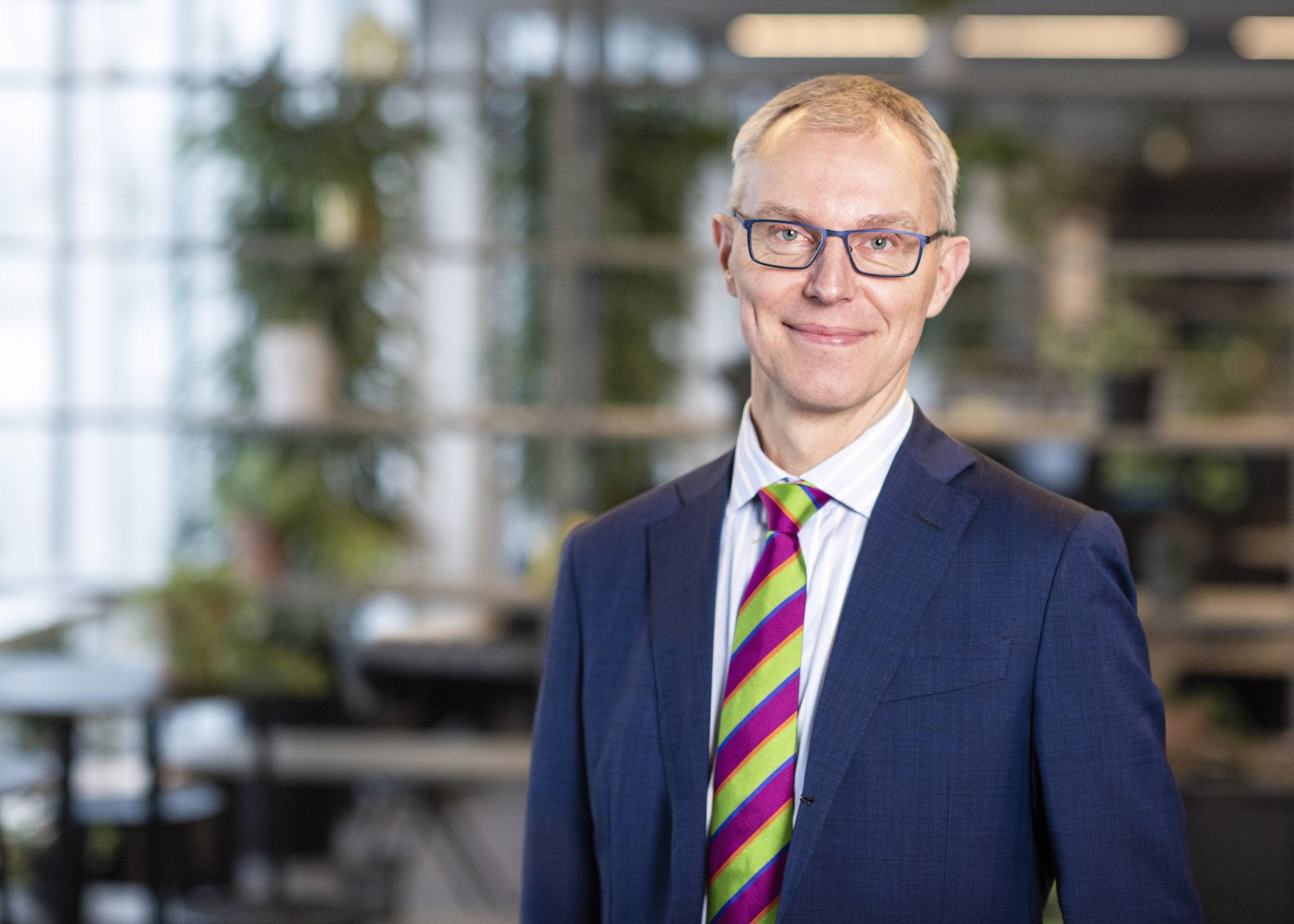Den erfarne hotelier, Peter Møller Laursen, har nærmest blåt blod i årene efter en solid karriere hos Radisson Blu Hotels. Den 1. februar lander han i Aarhus Airport som kommerciel chef. (PR-foto: Kirsten Adler)