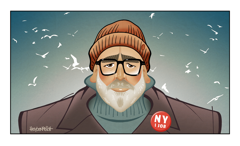 Colin John Seymour, jr. (Illustration: Peter Heydenreich)