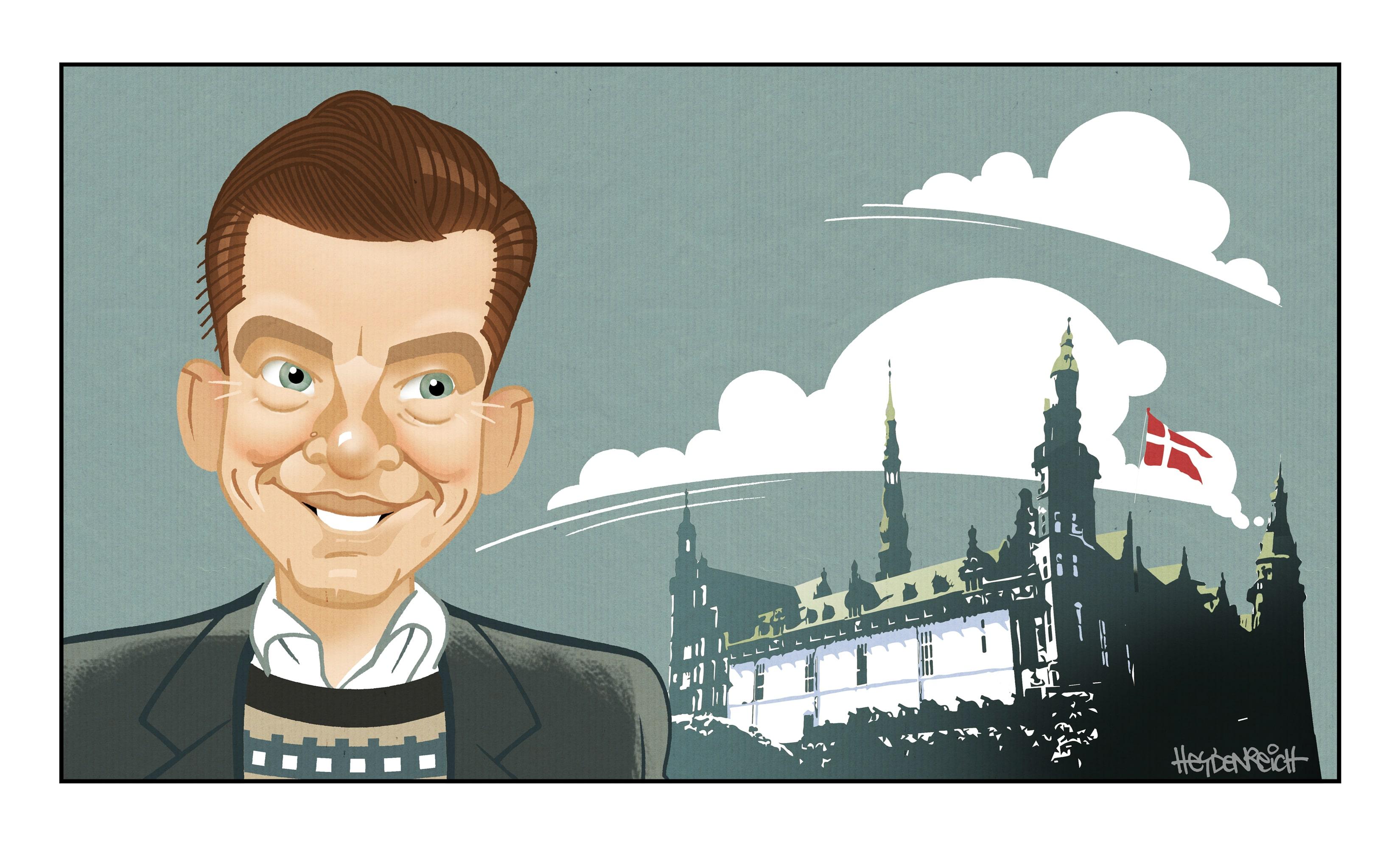 Christian Struckmann Irgens, Illustration: Peter Heydenreich