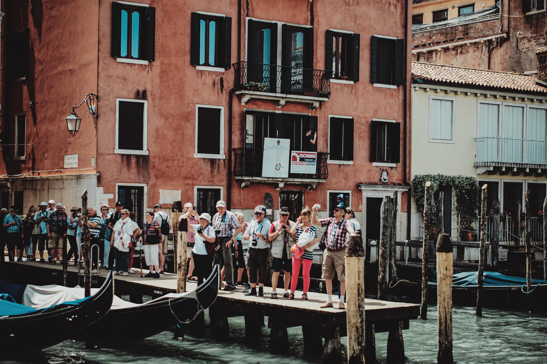 Turister i Venedig (Foto: Aleks Marinkovic)