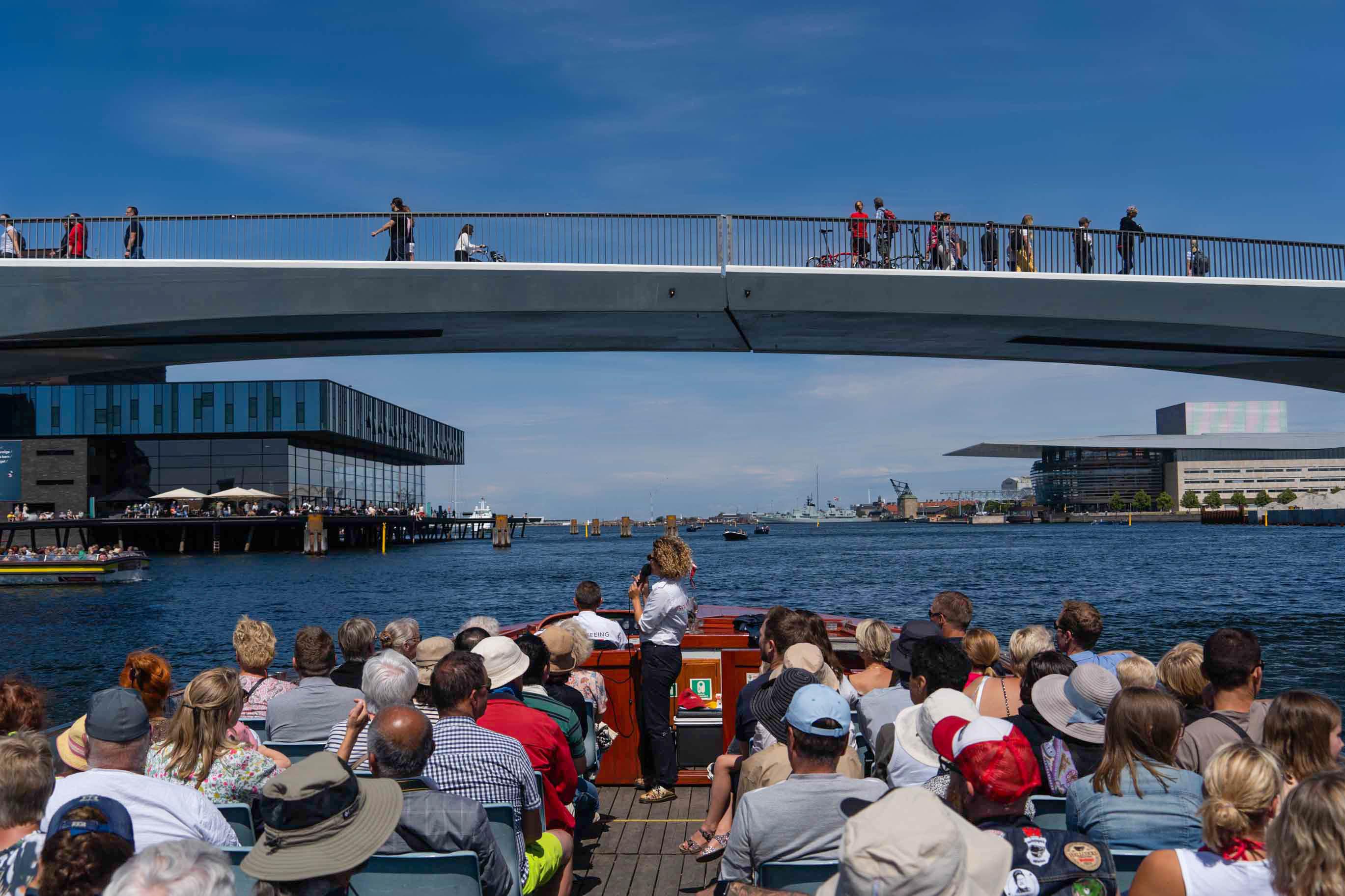På havnerundfart i København. (PR-foto: Stromma)