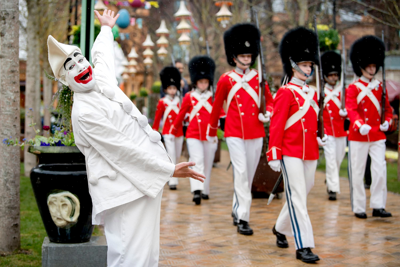Pjerrot og Tivoli Garden åbner Tivoli 2021. (Foto: Bax Lindhardt/Tivoli)