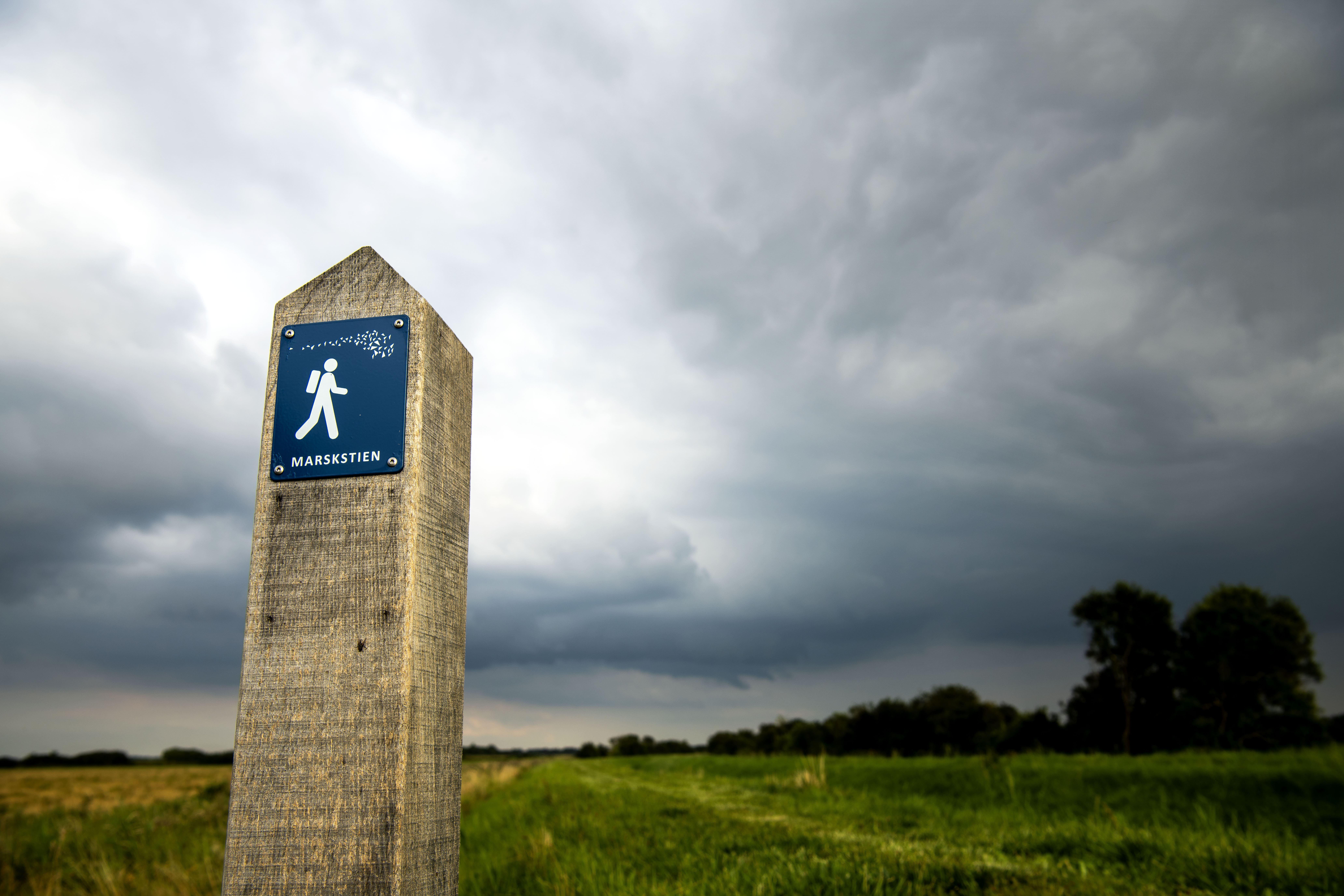 Marskstien netop er blevet certificeret som 'Leading Quality Trail - Best of Europe. (Foto: Ulrik Pedersen/Tøndermarsk Initiativet)