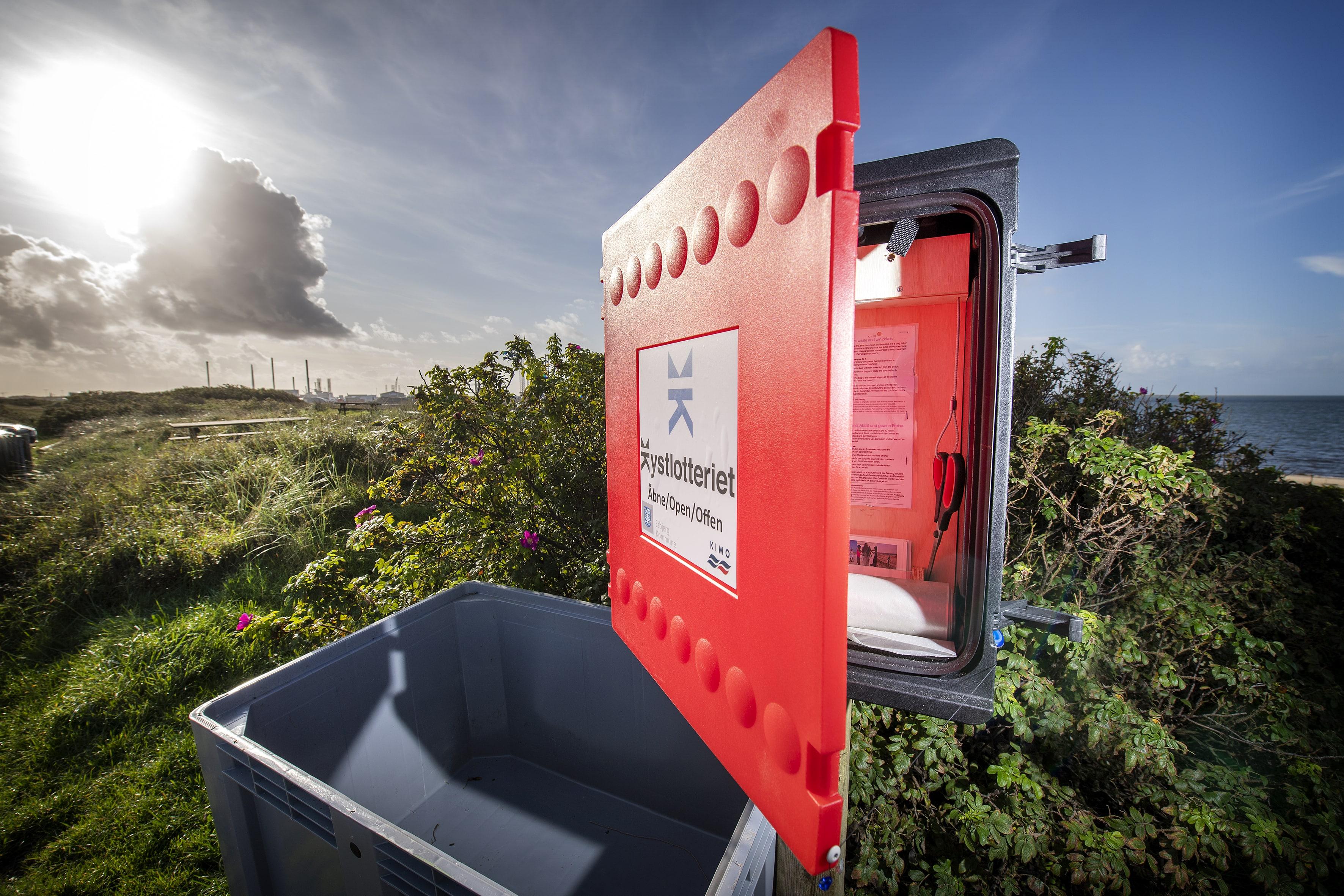 Kystlotteriet løber fra 1. september 2021frem til december 2021. (Foto: Kystlotteriet/Esbjerg Kommune)